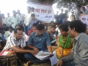 Nayab Tehsildar gives land titles to Jerma
