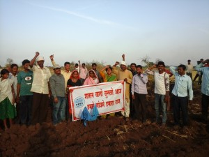 Vasave Gets land possession in Nandurbar