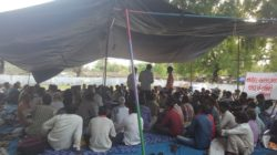 Agitation and Hunger Strike by the Narmada Project Affected Adivasis in Gujarat to demand justice