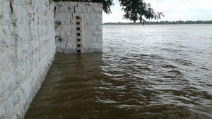 राजघाट बडवानी पानी का लेवल अभी 126 मी पहुॅच गया। नर्मदा जल जंगल जमीन हक सत्याग्रह के 10 वे दिन भी जारी