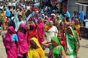 Medha Patkar leads anti-dam, anti-liquor rally in MP